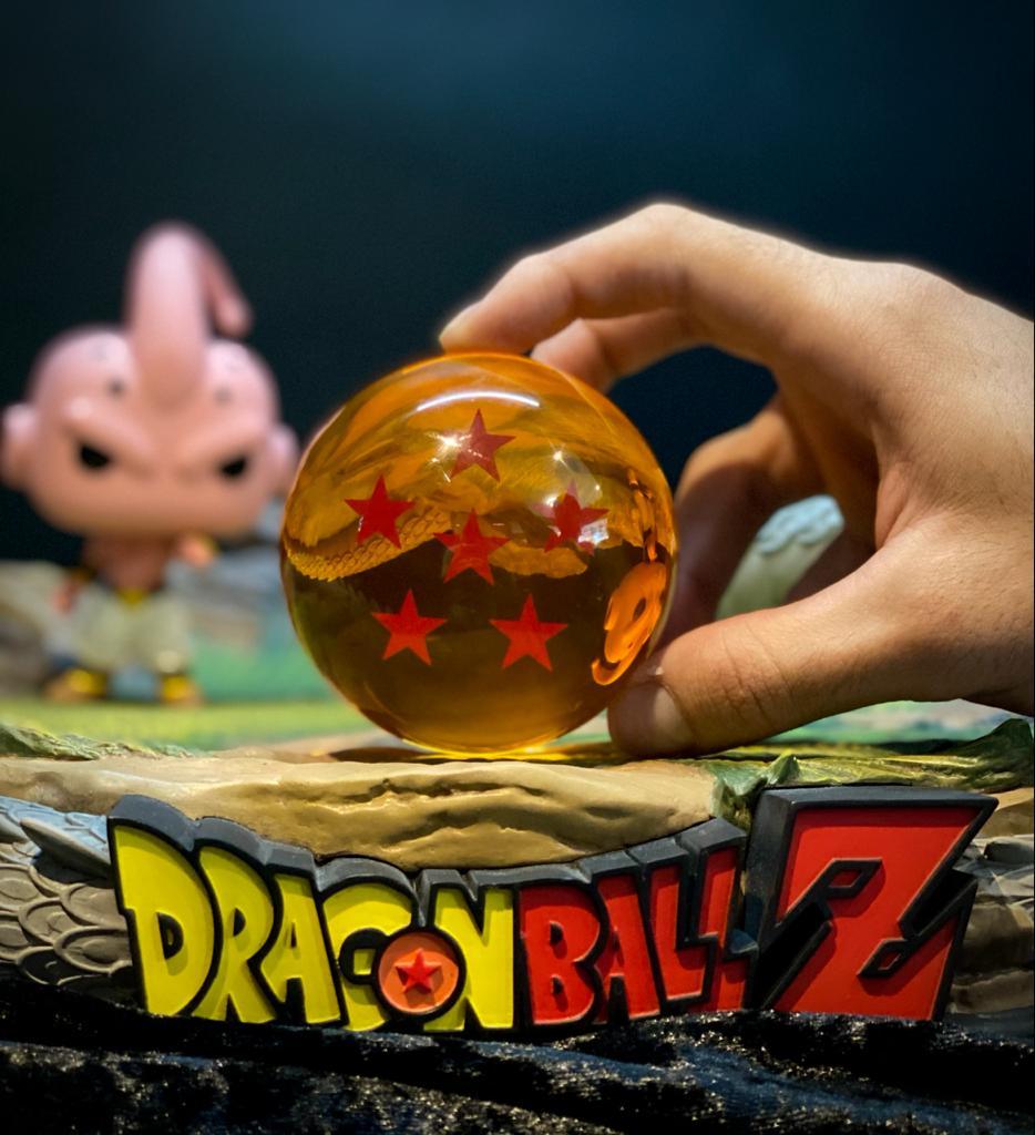 Réplica Esfera do Dragão de 6 (Seis) Estrelas: Dragon Ball Z - Grande (7,5 cm)