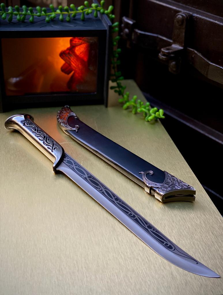 Réplica Espada/Adaga Élfica Thranduil: Senhor Dos Aneis O Hobbit (40cm)