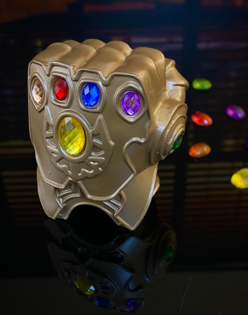 Replica Estatua Decorativa Manopla Do Infinito Infinity Gauntlet: Vingadores Ultimato Avengers Endgame Marvel