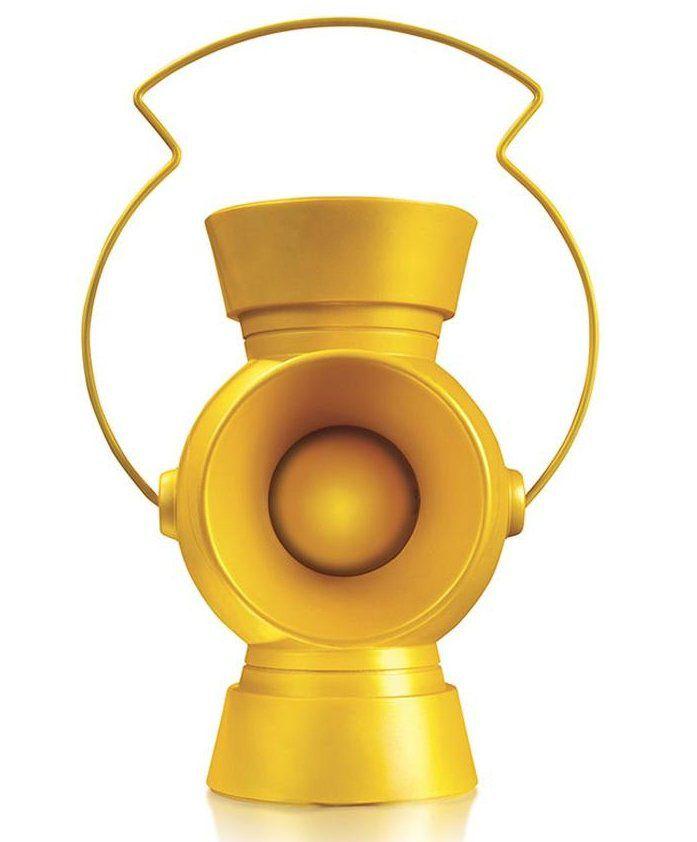 Réplica Lanterna Amarelo (Yellow Lantern): Sinestro Corp (Escala 1/1) - DC Direct - CG