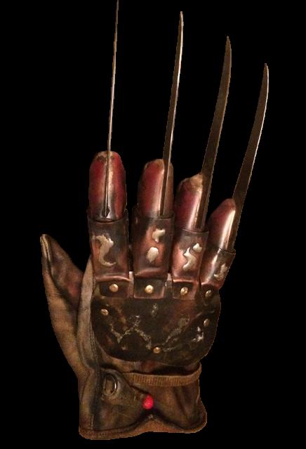 PRÉ VENDA: Réplica Luva Freddy Krueger (Deluxe): A Hora do Pesadelo O Mestre dos Sonhos (A Nightmare on Elm Street 4)