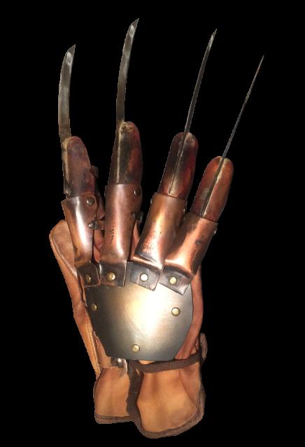 PRÉ VENDA: Réplica Luva Freddy Krueger (Deluxe): A Hora do Pesadelo Os Guerreiros dos Sonhos (A Nightmare on Elm Street 3)