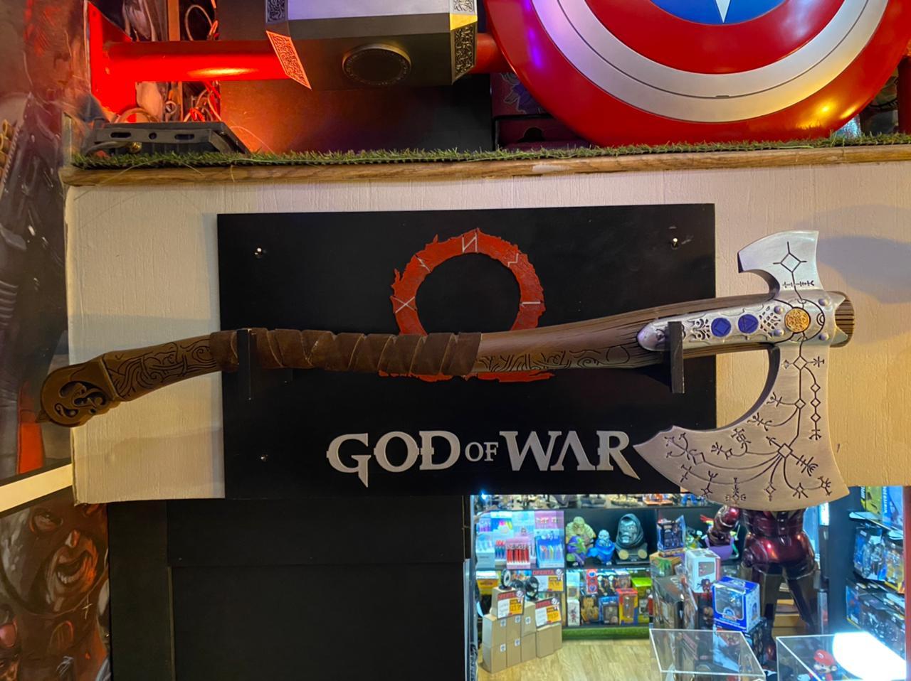 Réplica Machado Leviatã Kratos: God of War (2018) 1/1 - Fanatic Studios