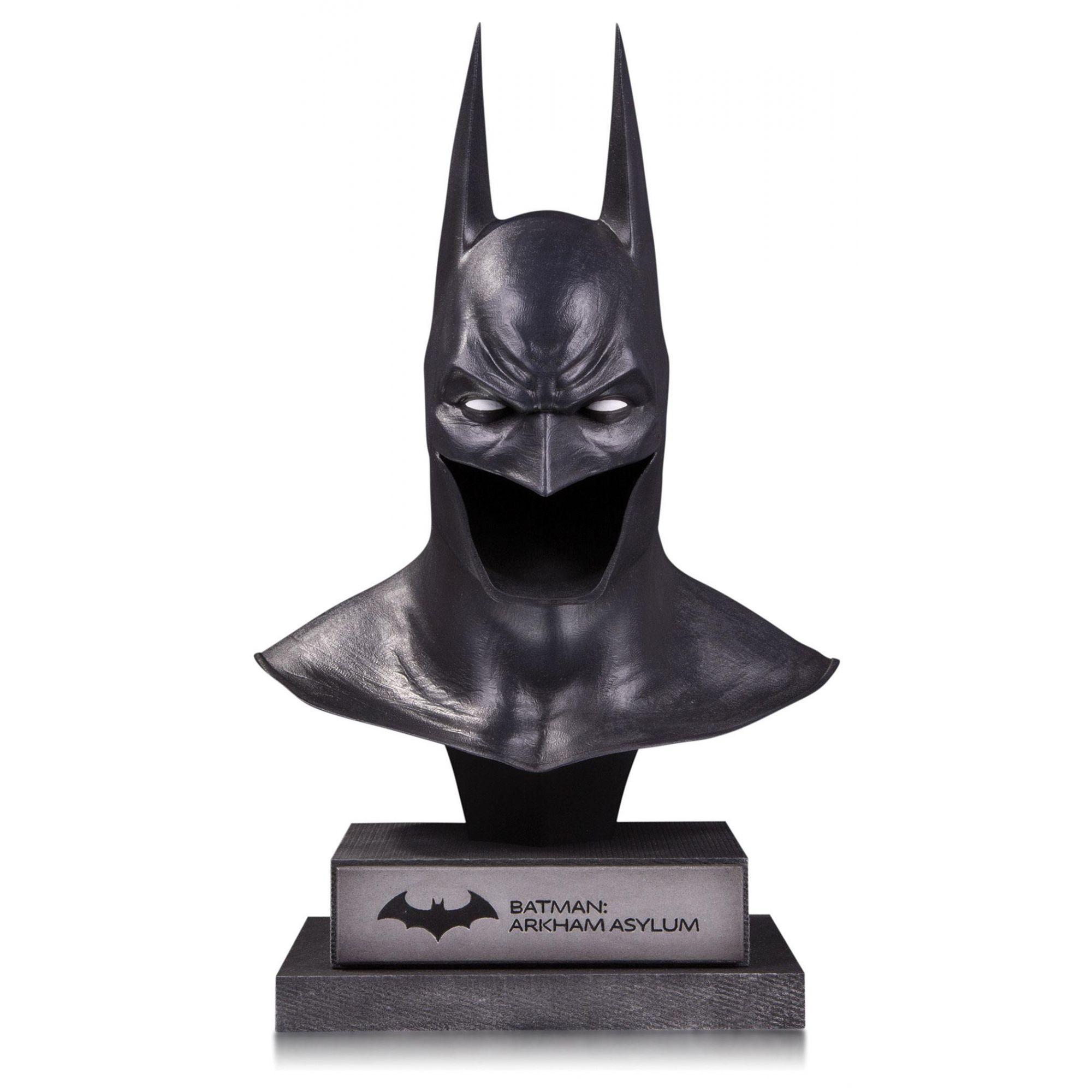 Réplica Máscara Batman: Arkham Asylum (DC Gallery) - DC Collectibles