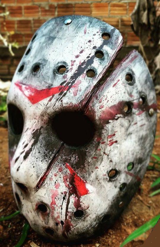 Réplica Máscara Jason: Sexta-Feira 13 (Friday The 13th)