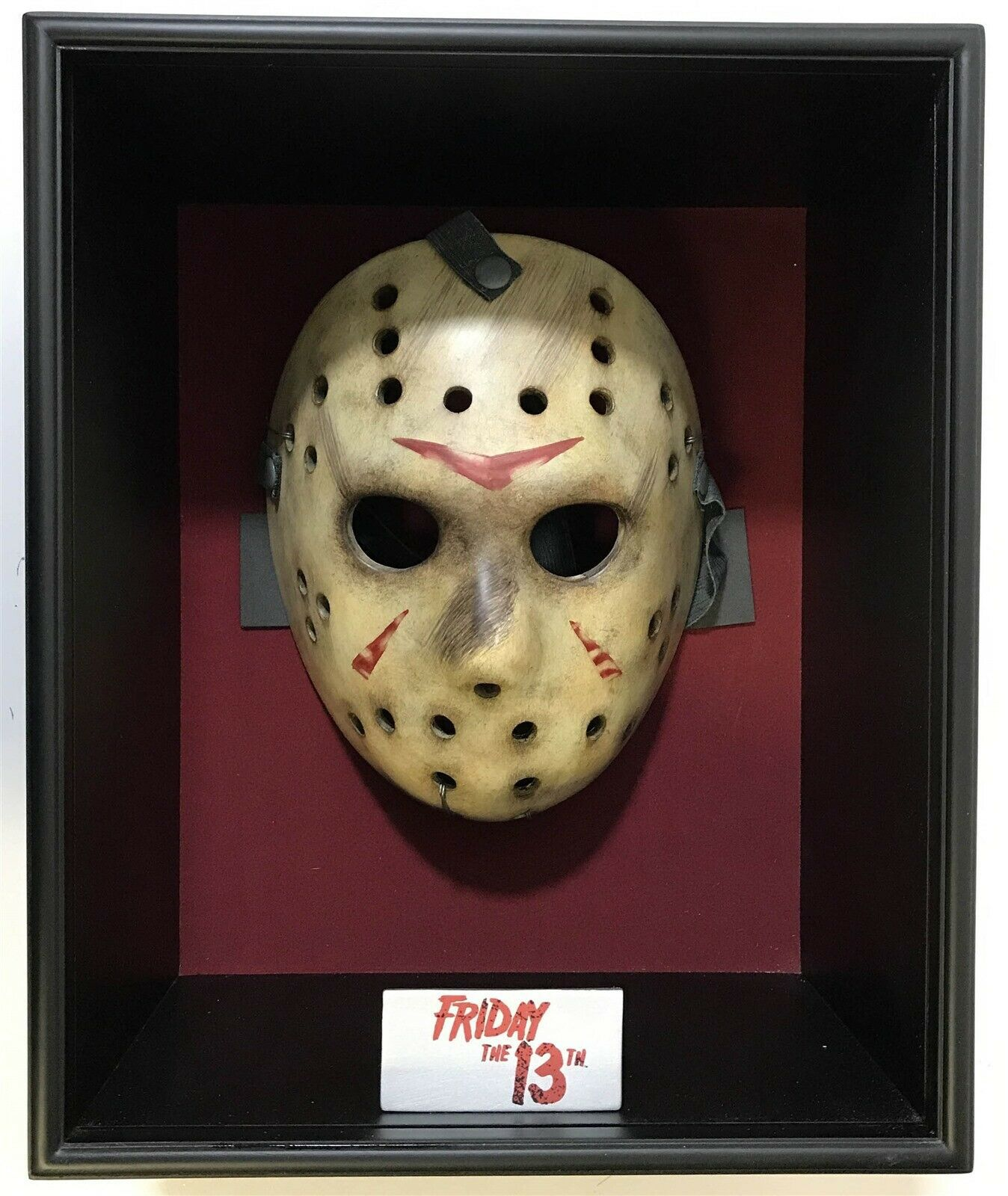 Réplica Máscara Jason Voorhees (Prop Replica): Sexta-Feira 13 (Friday the 13th) - Neca - CG