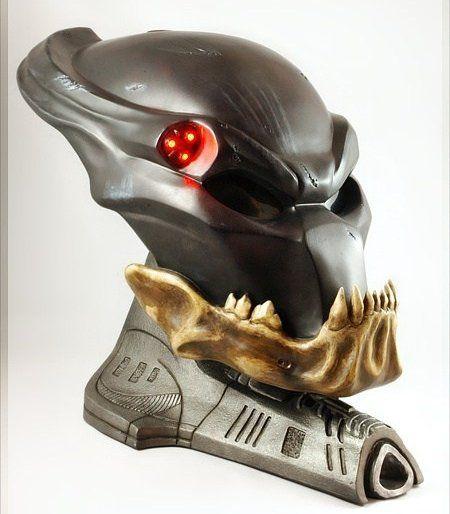 Réplica Máscara The Berserker: Predador (Predator) Escala 1/1 - Sideshow - CG