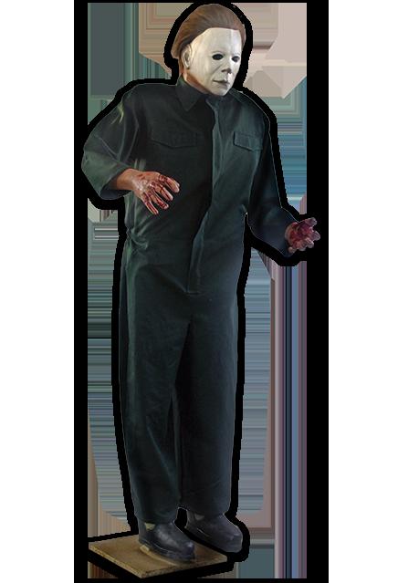 Réplica Michael Myers: Halloween 2 (O Pesadelo Continua!) Escala 1/1 - Trick or Treat Studios