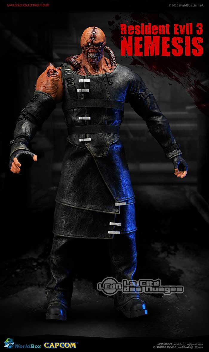 Resident Evil 3: Nemesis - Worldbox