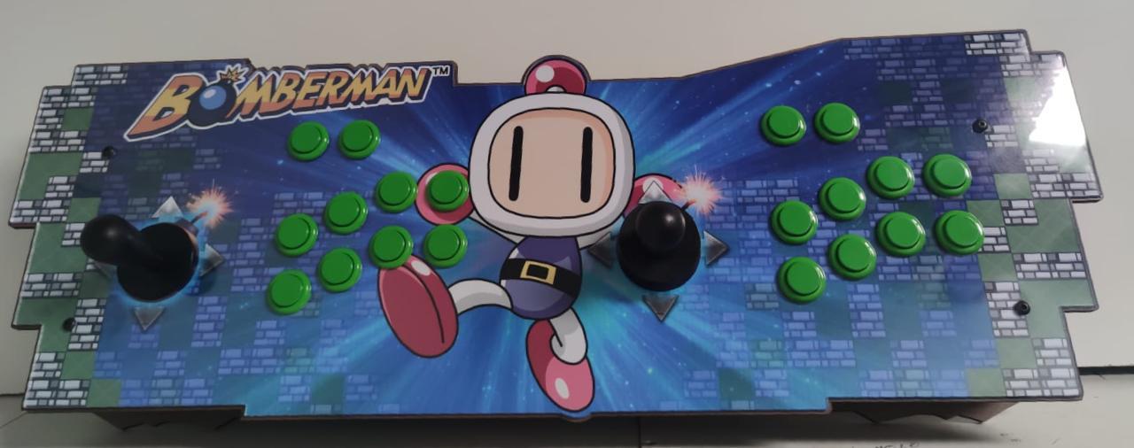 """Retrô Box Fliperama Arcade """"Bomberman"""" (Mais de 20.000 Jogos)PlayStation 1/Nintendo/Super Nintendo"""