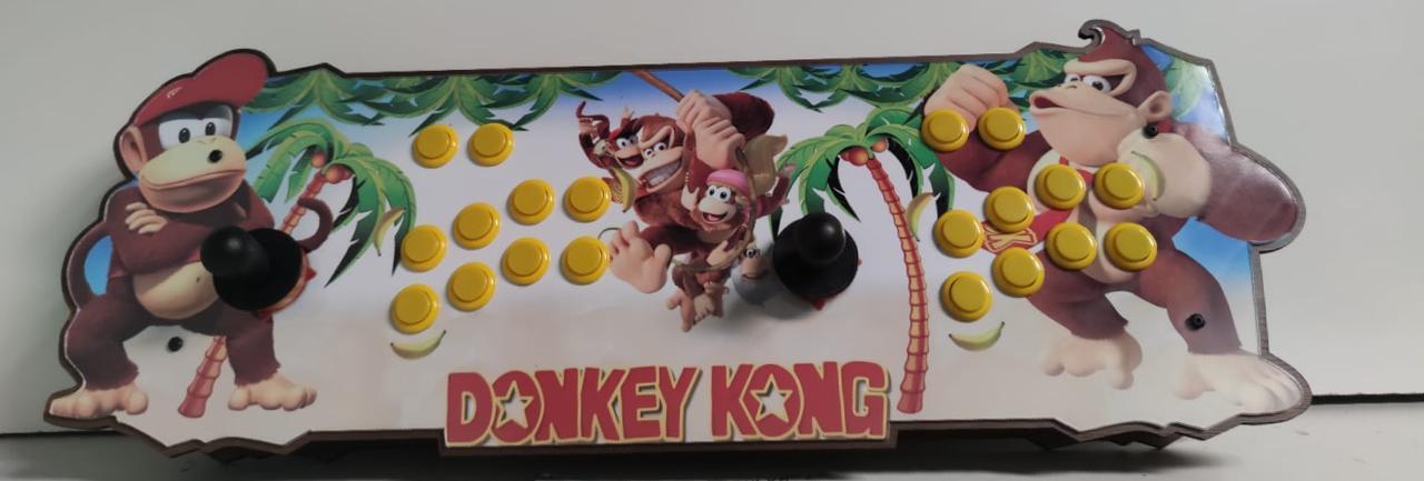 """Retrô Box Fliperama Arcade """"Donkey Kong"""" (Mais de 20.000 Jogos)PlayStation 1/Nintendo/Super Nintendo"""