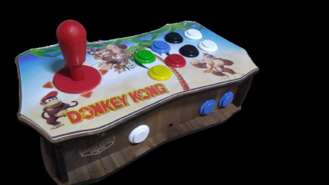 "Retrô Box Fliperama Arcade ""Donkey Kong"" (Mais de 20.000 Jogos) PlayStation 1/Nintendo/Super Nintendo/Mega Drive"