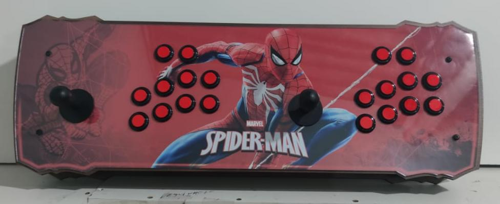 """Retrô Box Fliperama Arcade """"Homem Aranha (Spider-Man)"""" (Mais de 20.000 Jogos)PlayStation 1/Nintendo/Super Nintendo"""