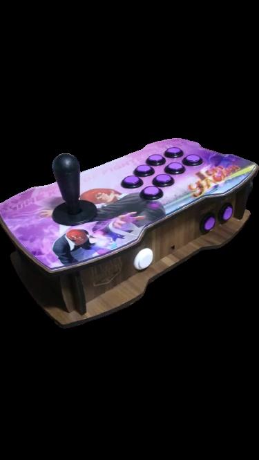 "Retrô Box Fliperama Arcade ""Iori Yagami"" (Mais de 20.000 Jogos) PlayStation 1/Nintendo/Super Nintendo/Mega Drive"