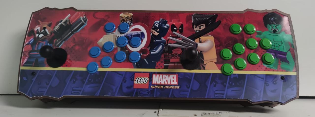 """Retrô Box Fliperama Arcade """"Lego Marvel"""" (Mais de 20.000 Jogos)PlayStation 1/Nintendo/Super Nintendo"""