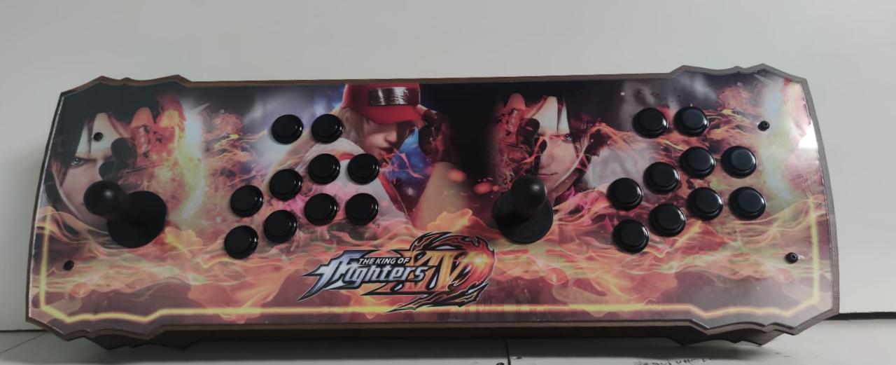 """Retrô Box Fliperama Arcade """"The King Of Fighters XIV"""" (Mais de 20.000 Jogos)PlayStation 1/Nintendo/Super Nintendo"""