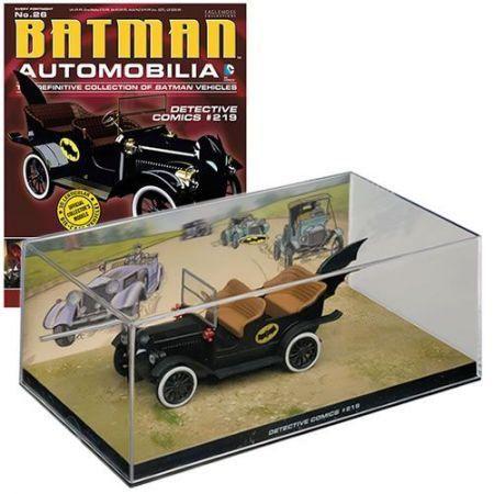Revista Batman Automobilia Batmobile (Batmóvel) Detective Comics - Eaglemoss