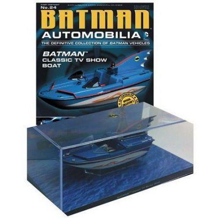 Revista Batman Automobilia Classic Tv Series Boat - Eaglemoss