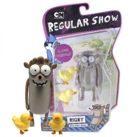 Boneco Rigby: Regular Show - Jazwares