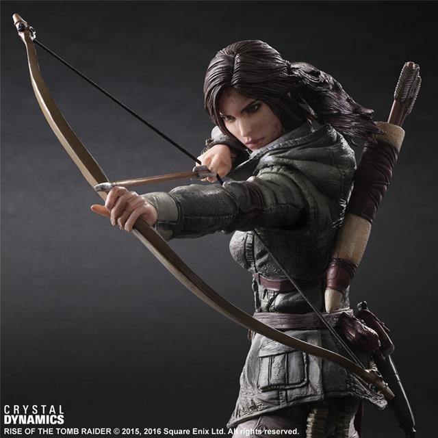 Rise of The Tomb Raider: Lara Croft  - Play Arts Kai SD