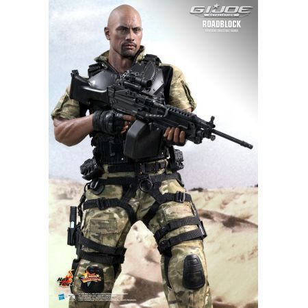 Roadblock Dwayne Johnson (The Rock) - G.I Joe Retaliation - Hot Toys