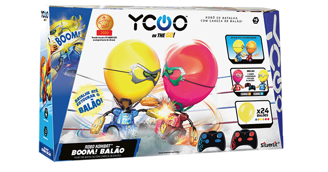 Robô Kombat: Boom! Balão - DTC