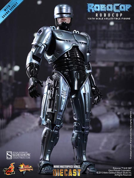Robocop Escala Diecast - Hot Toys (Produto Exposição)