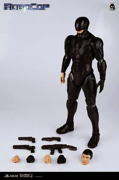 Boneco Robocop Remake 3.0 Escala 1/6 - ThreeA - CD
