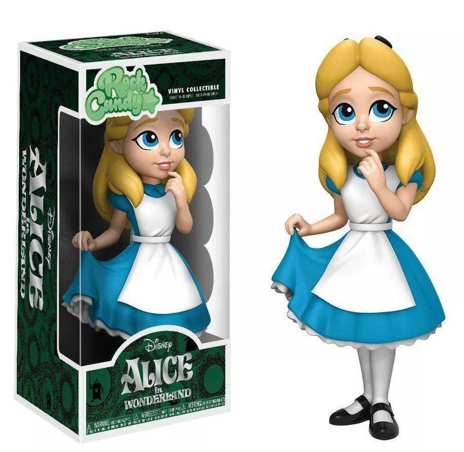 Funko Rock Candy Alice: Alice no País das Maravilhas Disney - Funko