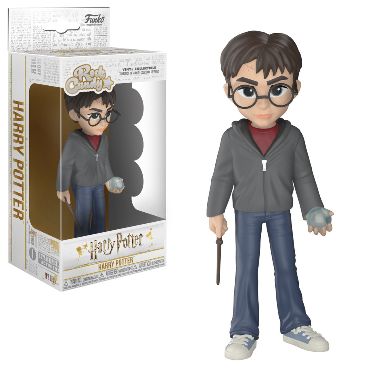 Funko Rock Candy Harry Potter Com Profecia: Harry Potter - Funko