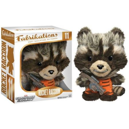 Funko Rocket Raccoon Guardiões da Galáxia Fabrikations - Funko