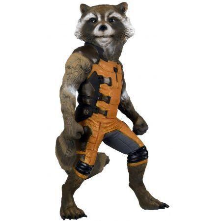 Rocket Raccoon Guardiões da Galáxia Réplica Tamanho Real - Neca