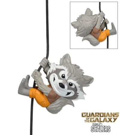 Rocket Raccoon Guardiões da Galaxia Scalers - Neca