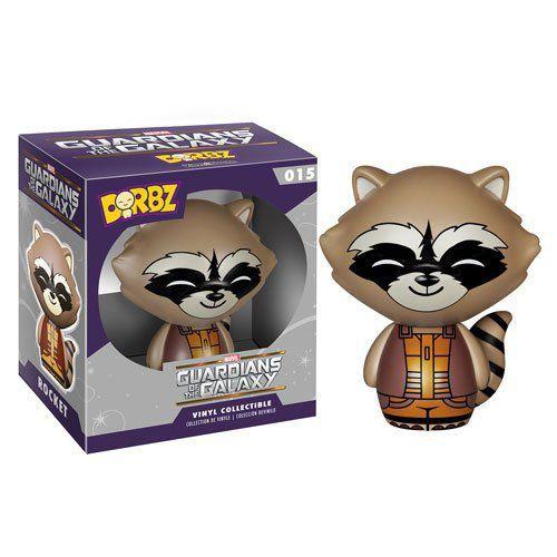 Funko Dorbz Rocket Raccoon (Nova Corps): Guardiões da Galáxia #015 - Funko