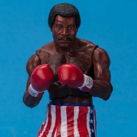 Rocky Apollo Creed (Pre-Fight) - Neca