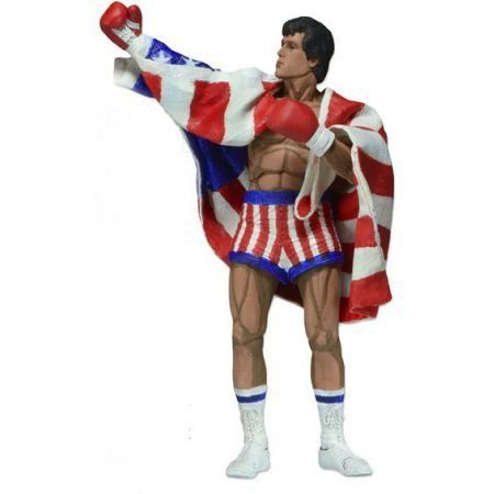 Rocky Balboa Classic Video Game Appearance - Neca