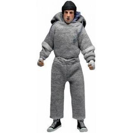 Rocky Balboa Clothed Sweatsuit - Neca