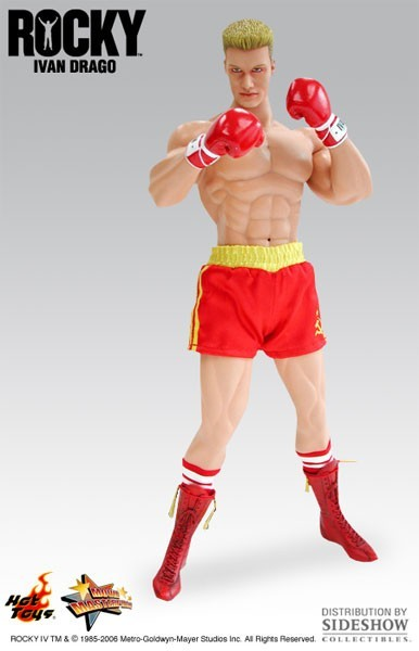 Action Figure Ivan Drago: Rock IV (MMS37) Escala 1/6  (Boneco Colecionável) - Hot Toys