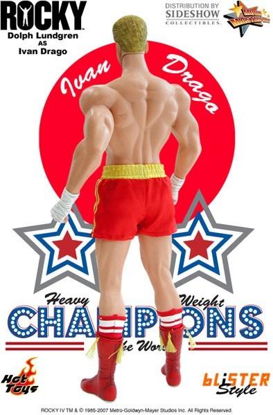 Action Figure Ivan Drago: Rock IV (MMS37) Escala 1/6  (Boneco Colecionável) - Hot Toys