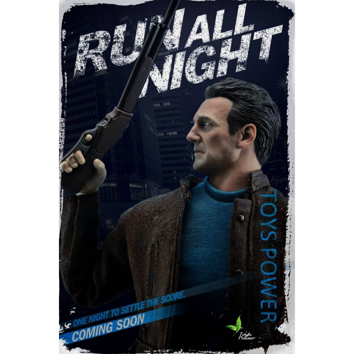 Action Figure Jimmy Conlon: Noite Sem Fim (Run All Night) Escala 1/6 - Toys Power