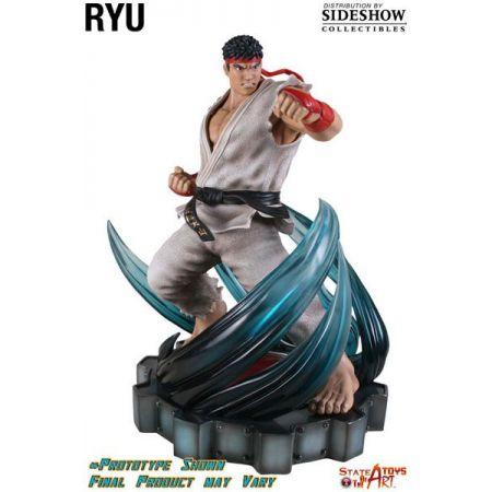 Ryu Street Fighter IV Estátua de Resina com LED - SotaToys