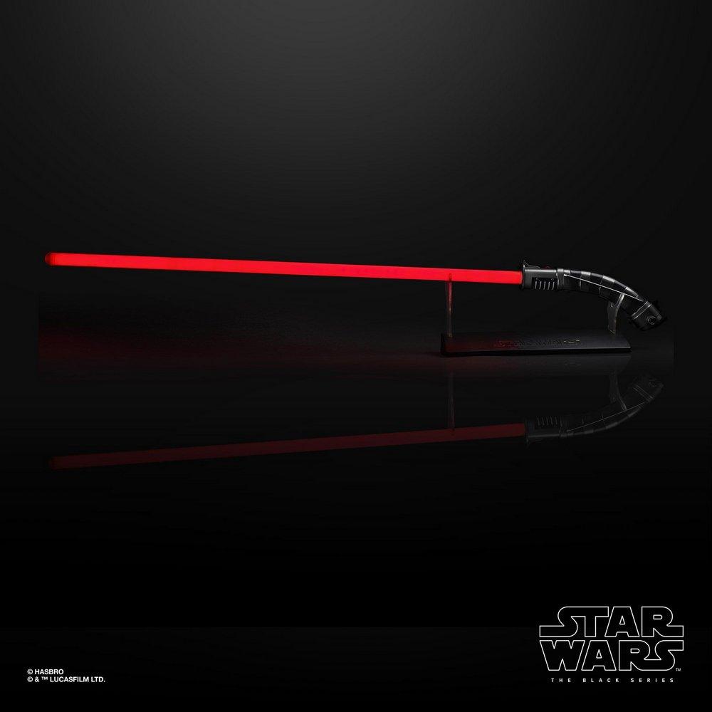 Sabre de Luz: Asajj Ventress Force FX Lightsaber (Red): Star Wars The Black Series - Hasbro