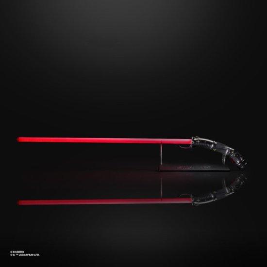Sabre de Luz: Conde Dooku Force FX Lightsaber (Red): Star Wars The Black Series - Hasbro