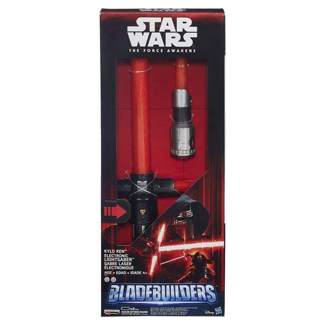 Sabre de Luz Eletrônico Kylo Ren Star Wars Episódio VII - Hasbro