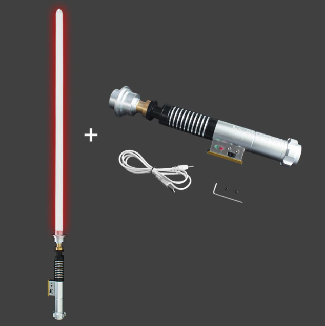 Sabre de Luz Luke Skywalker Darth Vader (Vermelho): Star Wars com Caixa de Controle- MKP