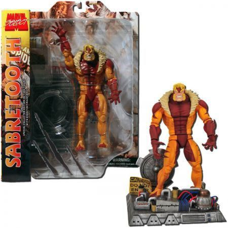 Boneco Sabretooth: Marvel Select - Diamond Select