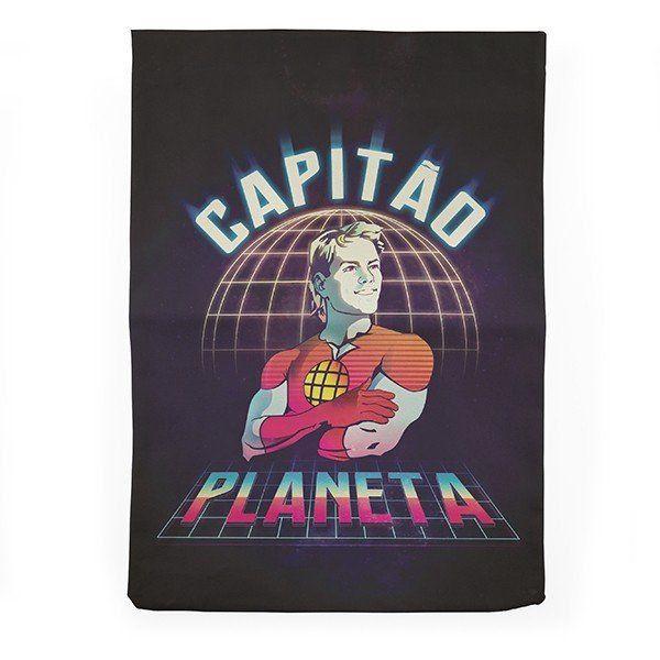 Sacola (Ecobag) Capitão Planeta