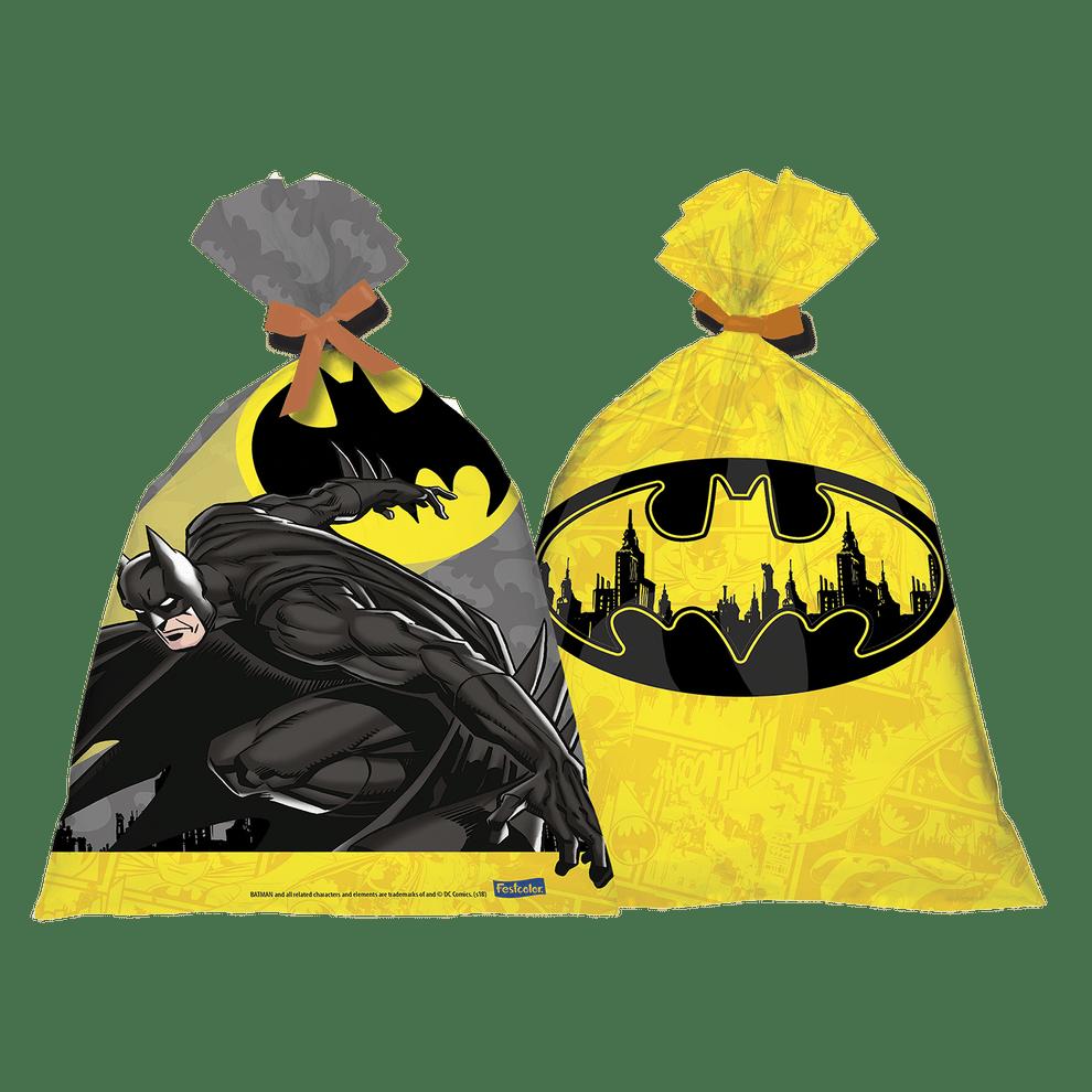 Sacola Plástica: Batman Geek - Festcolor
