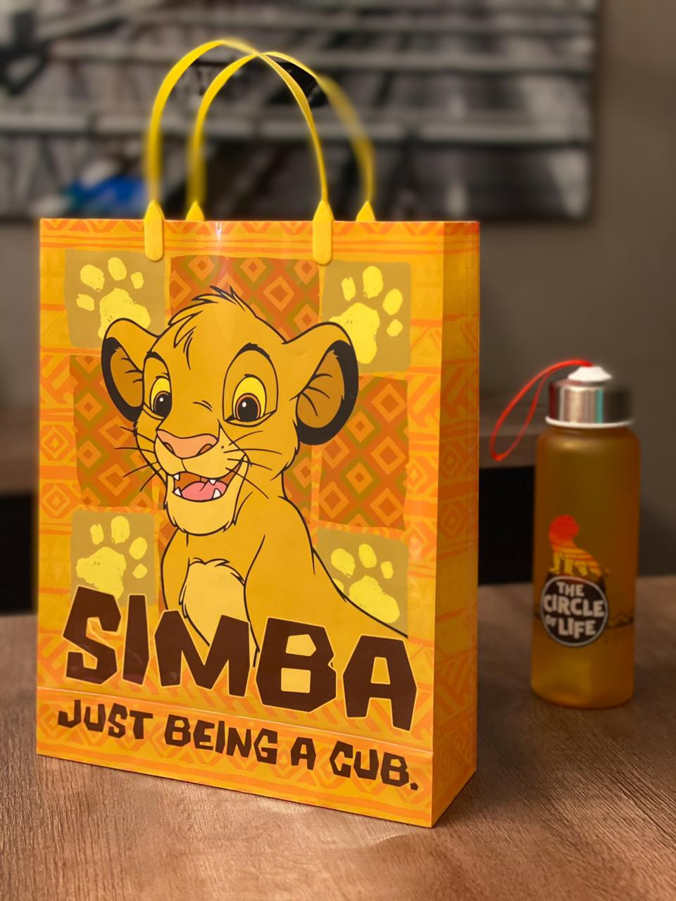Bolsa/Sacola Simba: Rei Leão