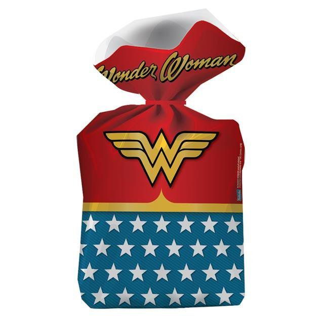 Sacolinha Surpresa Wonder Woman - Festcolor